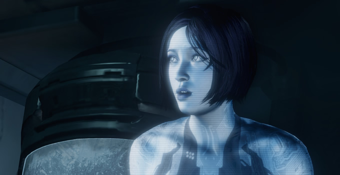 Cortana from the Xbox game Halo