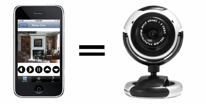 Using iphone5 as webcam