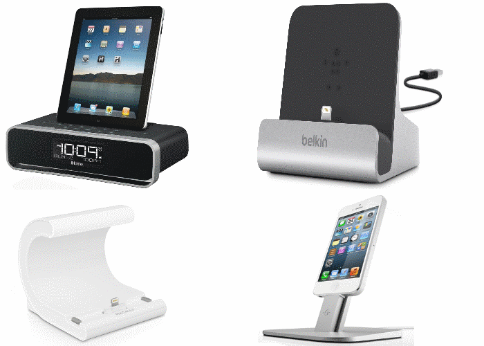 ipad air docking stations