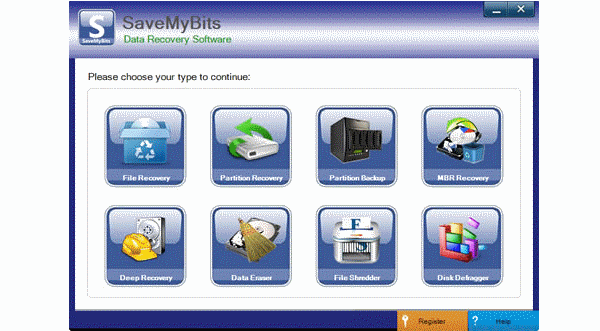 Save my bits data recovery