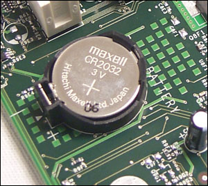 How to identify CMOS Battery Failure