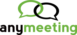 Anymeeting web conferencing and screen sharing logo
