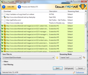Download Them All DTA for Windows