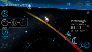 Cosmic Watch App - Augmented Reality 3D Planetarium