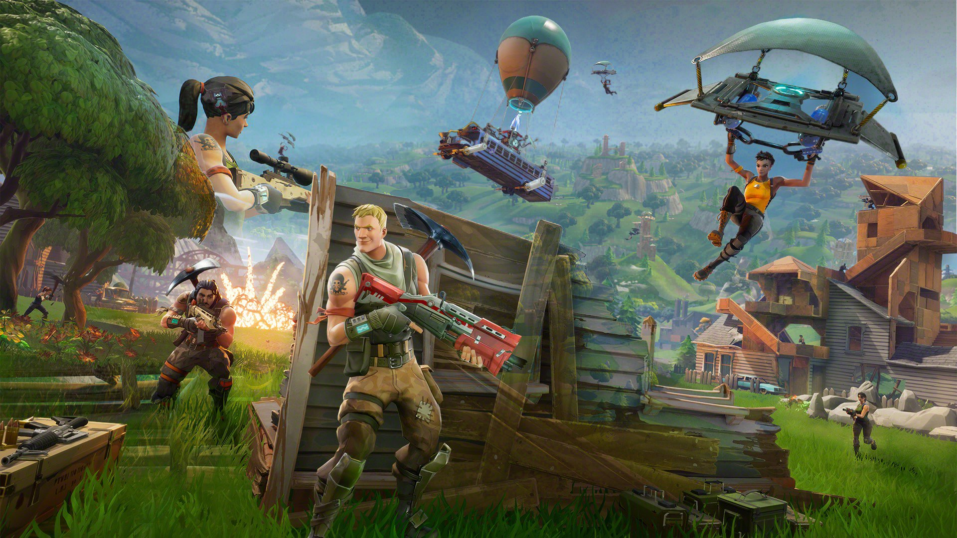 Epic Games Fortnite Battle Royale Download Pc