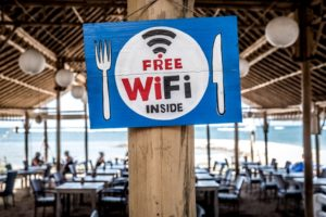 Free Public WiFi at Restaurant
