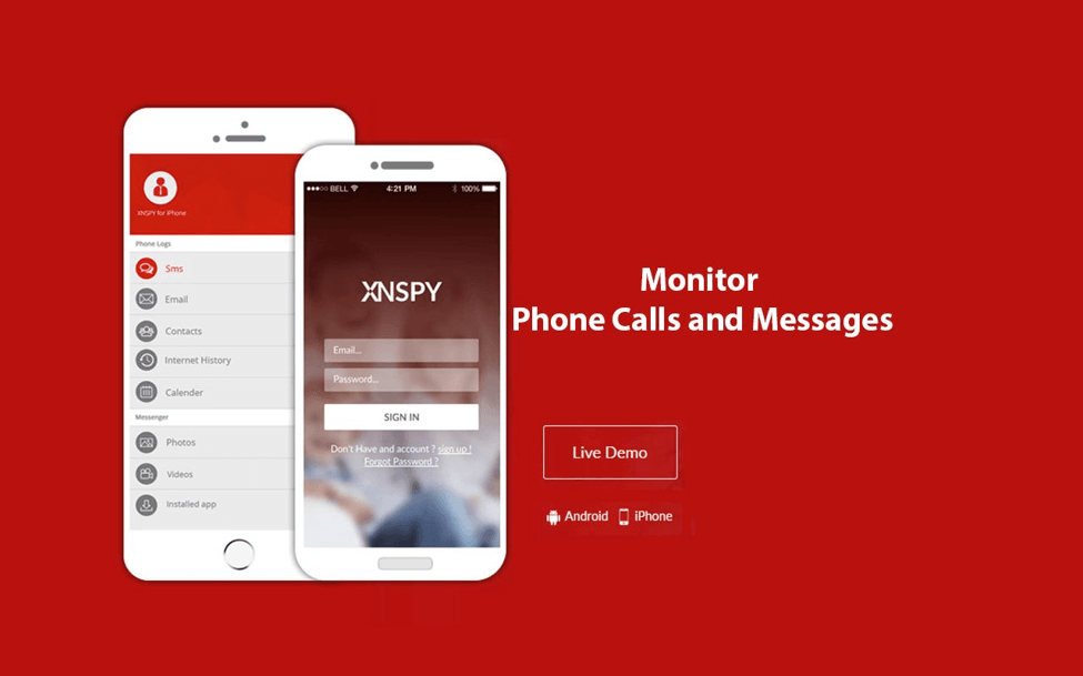 Monitor phone calls and messages with Xnspy