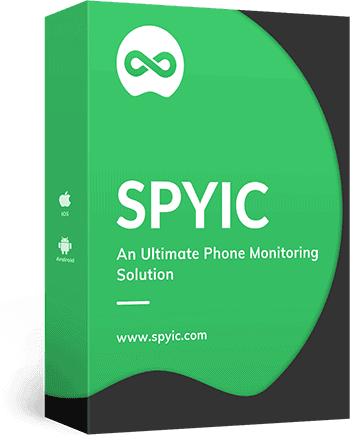 Spyic software retail packaging box - catch your cheating fiancé