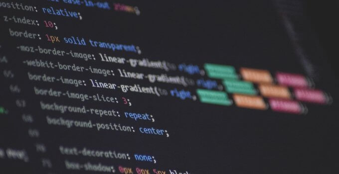 Web scraping software reads source code to gather data